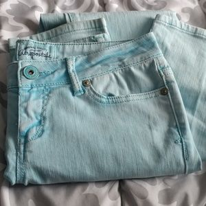 Pastel Blue Skinny Jeans